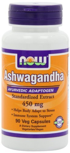 Now Foods NOW Foods Ashwagandha 4.5% Extract 450mg, 90 VCaps