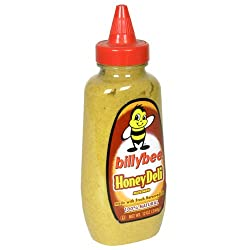 Billy Bee Squeeze Deli Honey Mustard, 12-Ounce Bottles (Pack of 6)