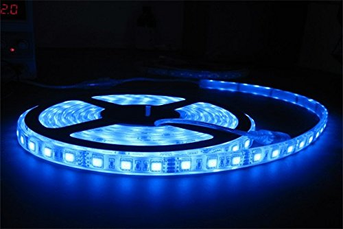 5 meter LED Strip Light Blue With Adapter