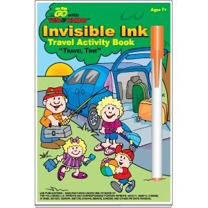 On the Go with Yes & Know Invisible Ink Travel Activity Book: Travel Time