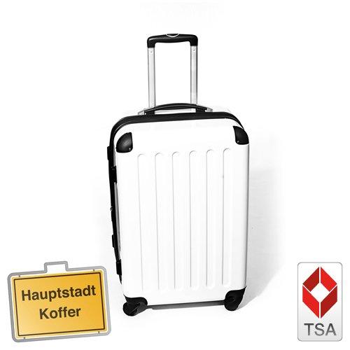 HAUPTSTADTKOFFER® · Hartschalenkoffer WEISS