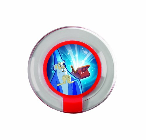 DISNEY INFINITY Power Disc Pack Exclusive -Merlin's Summon - 1
