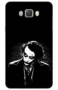 joker Designer Printed Back Case Cover for SAMSUNG Galaxy J7 - 6 (New 2016 Edition)