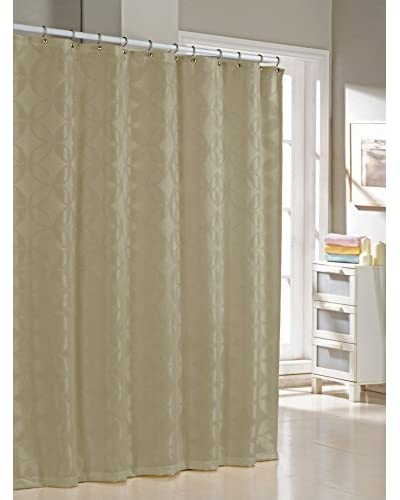 Duck River Textile Bayonne Shower Curtain, Taupe As You See
