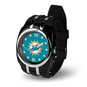Brand New Miami Dolphins NFL Crusher Series Mens Watch by Things for You