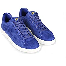Men S Nike Tennis Classic PDM SP Shoes DEEP ROYAL BLUE METALLIC GOLD WHITE
