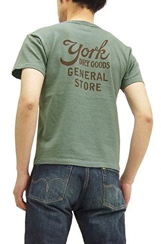 (フェローズ) Pherrows Tシャツ 15S-PTJ3 Pherrow's YORK DRY GOODS メンズ 半袖tee セージ (XXL)