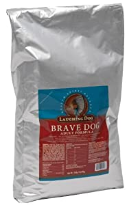 Laughing Dog Brave Dog Adult Formula, 24-Pound Bag