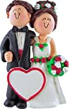 Ornament Central OC-007-MBR-FBR Wedding Couple Ornament