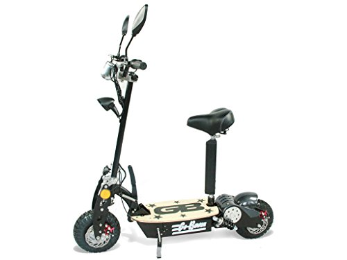 800W Electric Folding Scooter - Black