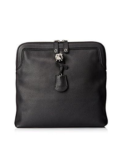 Alexander McQueen Women's Padlock Clutch, Black