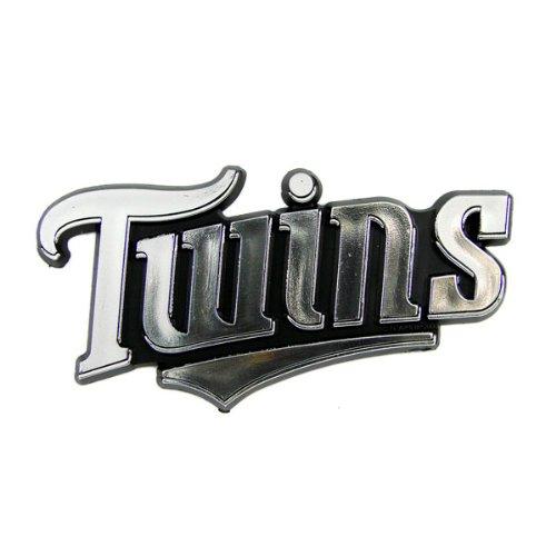 Twins Auto Mall >> Minnesota Twins MLB Chrome 3D for Auto Car Truck Emblem Decal Sticker Baseball Officially ...