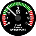 Rotax 912 Im-565 2 Inch Fuel Pressure 0-8 Psi Kit by AIRGIZMOS