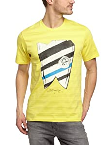 O'Neill Skeg T-Shirt manches courtes homme Sunshine Yellow FR : 40 (Taille Fabricant : S)