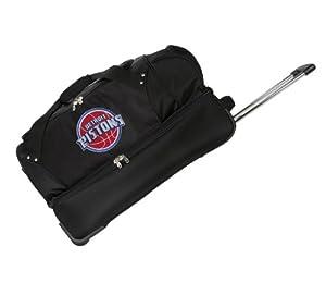 NBA 27-Inch Drop Bottom Rolling Duffel Luggage by Denco