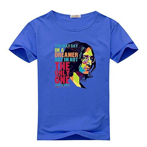 John Lennon The Beatles Iconic Roc For Boys Girls T-shirt Tee Outlet
