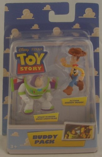 Toy Story ACTION SHERIFF WOODY & SPACE RANGER BUZZ LIGHTYEAR Disney / Pixar TOY STORY Buddy Pack