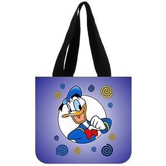 Disney Classic Cartoon Characters Donald Duck Custom Tote Bag 02