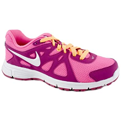 Nike Ladies Revolution 2 Pink Running Trainers Size 9