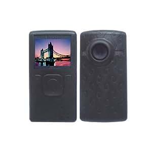 Black Soft Silicone Skin Case for Flip Ultra HD Camcorder