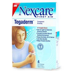 3m Tegaderm Transparent Dressing 6 Inch X