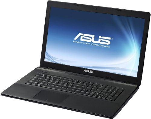 Asus F75A-TY271H 43,94 cm (17,3 Zoll) Notebook (Intel pentium 2020M, 2,4GHz, 6GB RAM, 750GB HDD, Intel HD Graphics, DVD, Win 8) schwarz
