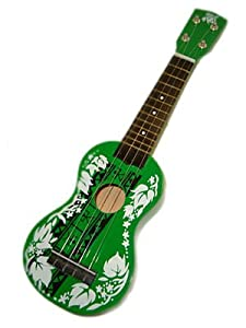 Hawaiian Green Kukui Ukulele Molokai Island Hawaii 20""