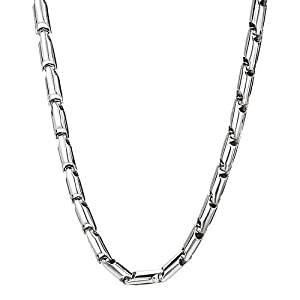 14K White Gold Men's Necklace. Length 22 in. Total Item weight 64.3 g.