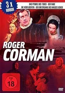 Roger Corman Box (Der Rabe / Das Pendel des Todes / Die Verfluchten - Der Untergang des Hauses Usher) (3 DVDs)