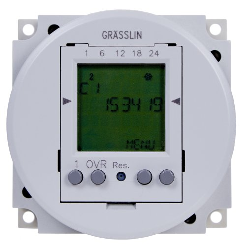 Intermatic Fm1D50-12U 24-Hour/7-Day 12Vdc Electronic Timer Module With Automatic Daylight Saving Time Changeover