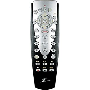 Amazon.com: Zenith 4 Device Universal TV Remote (ZN411) (Discontinued