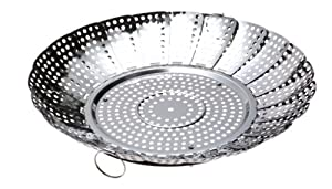 Norpro Large No Post Stainless Steel Vegetable Steamer