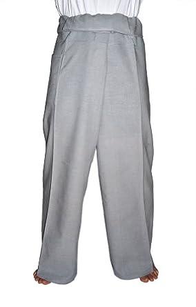 and Women's Unisex Thai Fisherman Pants - Banana Leaf Green: Clothing