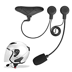 Avantree Motorcycle Bluetooth with Interphone for Bikers, WATERPROOF, Compatible with All Motorcycle Helmets, Support GPS and Music - HM100P