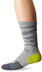 Stance Men's Drill Sergent Fushion Athletic Crew Sock, Gray, Small/Medium