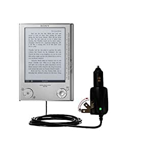 Car and Home 2 in 1 Combo Charger for the Sony Reader PRS-505 - uses Gomadic TipExchange Technology