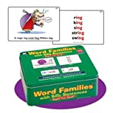 Word Families With Silly Sentences Fun Deck - Super Duper Educational Learning Toy For Kids