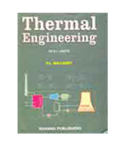 Thermal engineering by p l ballaney