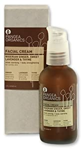 Pangea Organics Facial Cream: Nigerian Ginger, Sweet Lavender & Thyme - for Combination Skin - 60ml by PANGEA ORGANICS