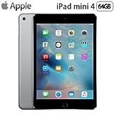 MK9G2J/A iPad mini 4 64GB スペースグレイ Wi-Fiモデル (iOS)