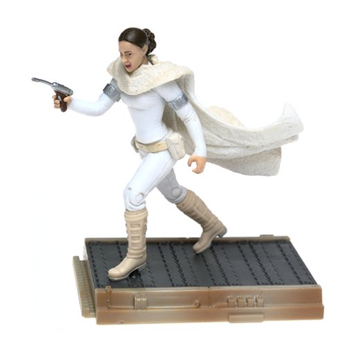 Star Wars 84923 Padme Amidala Droid Factory Chase Action Figure Attack Of The Clones - Carded 2002 Hasbro