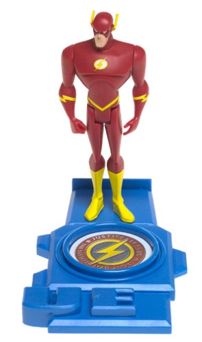Buy Low Price Mattel Justice League Deluxe Action Figure Mission Vision Flash (Gold Armor) (B00007JNWX)