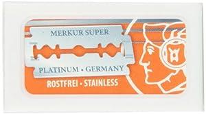 Merkur-Razor Merkur-Razor Double Edge Razor Blades, 100 Count