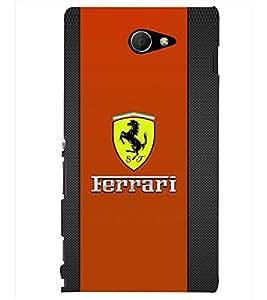 PRINTSHOPPII SPORTS CAR Back Case Cover for Sony Xperia M2 Dual D2302::Sony Xperia M2