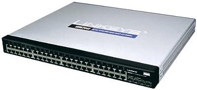 Cisco SRW2048 48-port Gigabit Switch - WebView