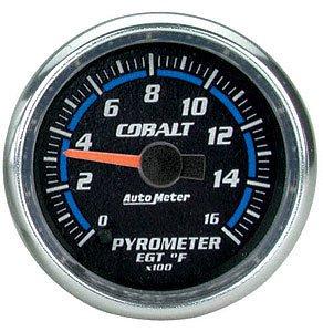 Auto Meter 6144 Cobalt Electric Pyrometer Gauge Kit