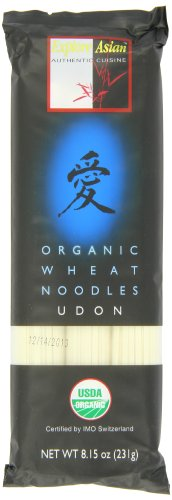 Exas Udon Noodle, Og, Wheat, 8.15-Ounce (Pack of 10) variability study of wheat genotypes