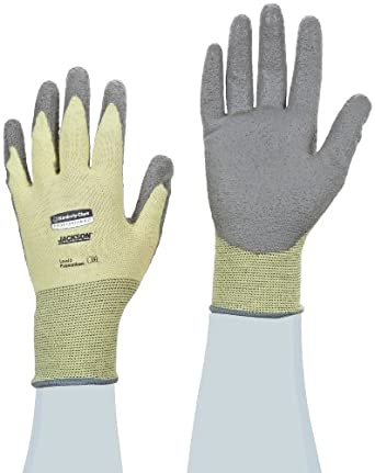Jackson Safety G60 Polyurethane Coated Level 2 Glove, Cut Resistant, Small (Case of 12 Pairs)