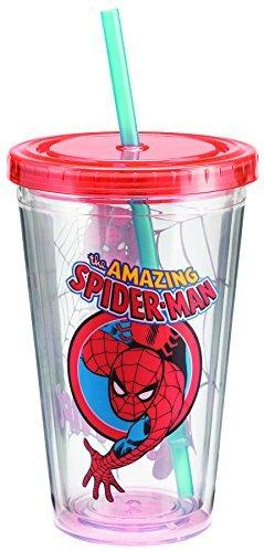 Marvel Spider-Man 18 Oz. Acrylic Travel Cup