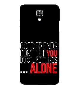 EPICCASE good friends Mobile Back Case Cover For LG X Power (Designer Case)